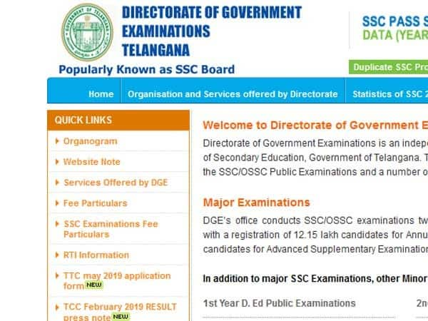 AP SSC Results 2018: Manabadi com, bse ap gov in, others