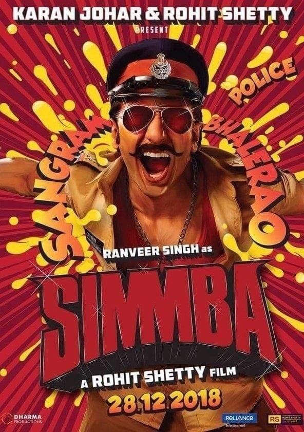 Simmba Online - Watch Online Movies - Justdial