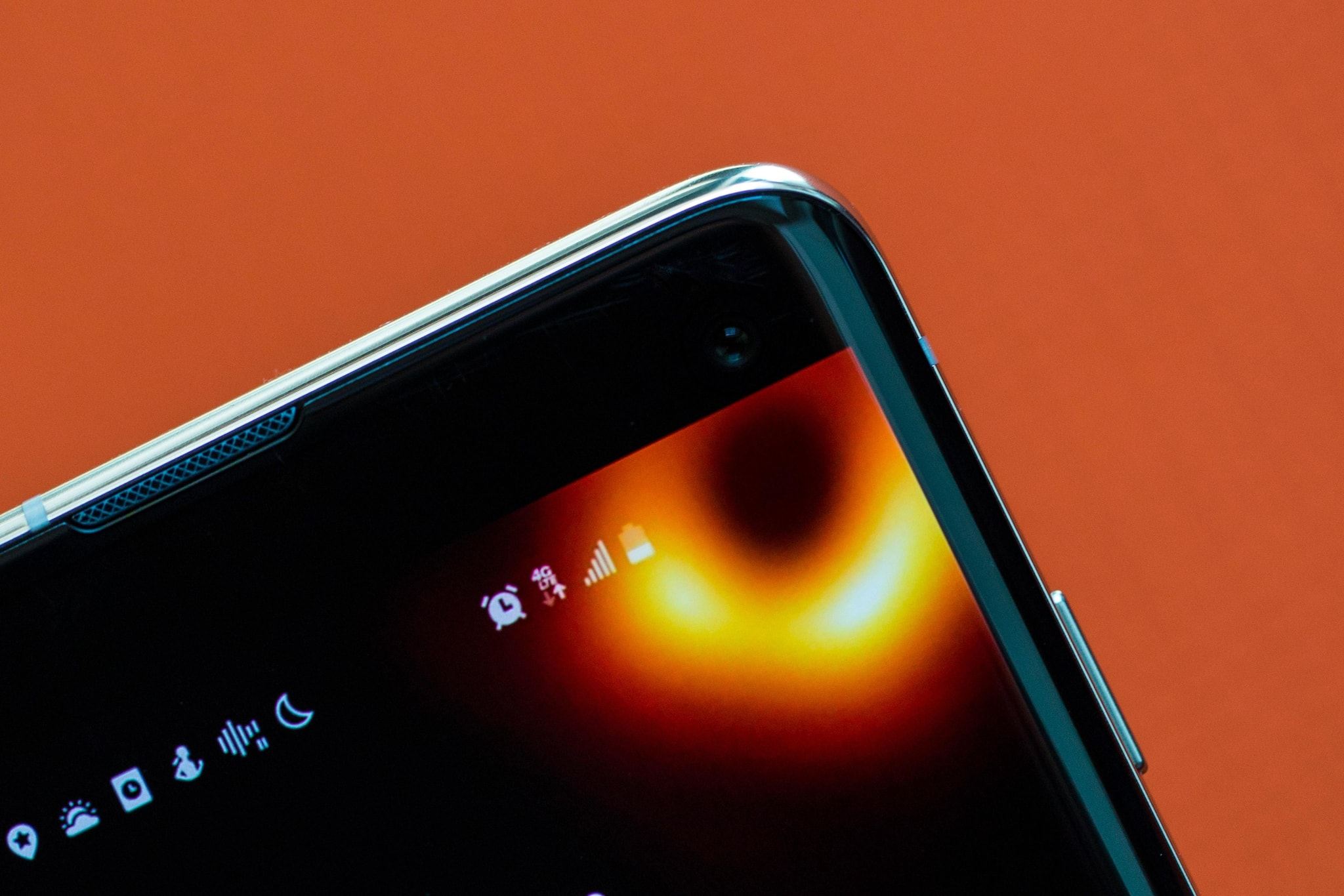 Galaxy S10 Black Hole Wallpaper How To Get The First Event