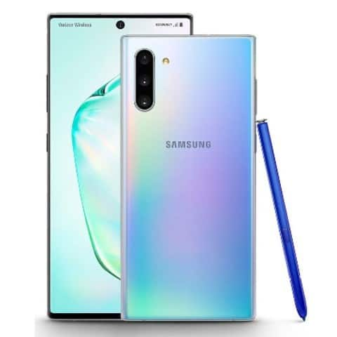 Samsung Galaxy Note 10, Galaxy Watch Active 2 live images