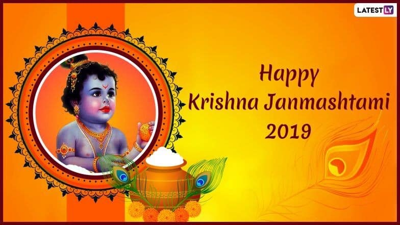 Happy Janmashtami 2019 Images & Greetings: Messages