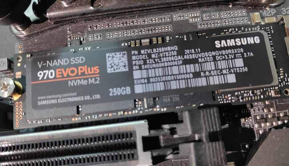 HP Announces EX950 M 2 NVMe SSD