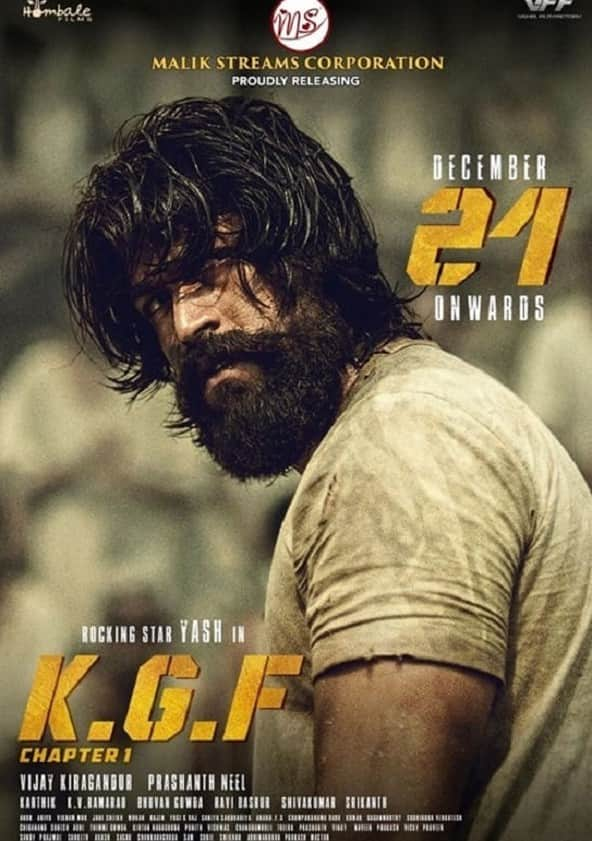 Watch K G F Chapter 1 Full movie Online In HD | Find where