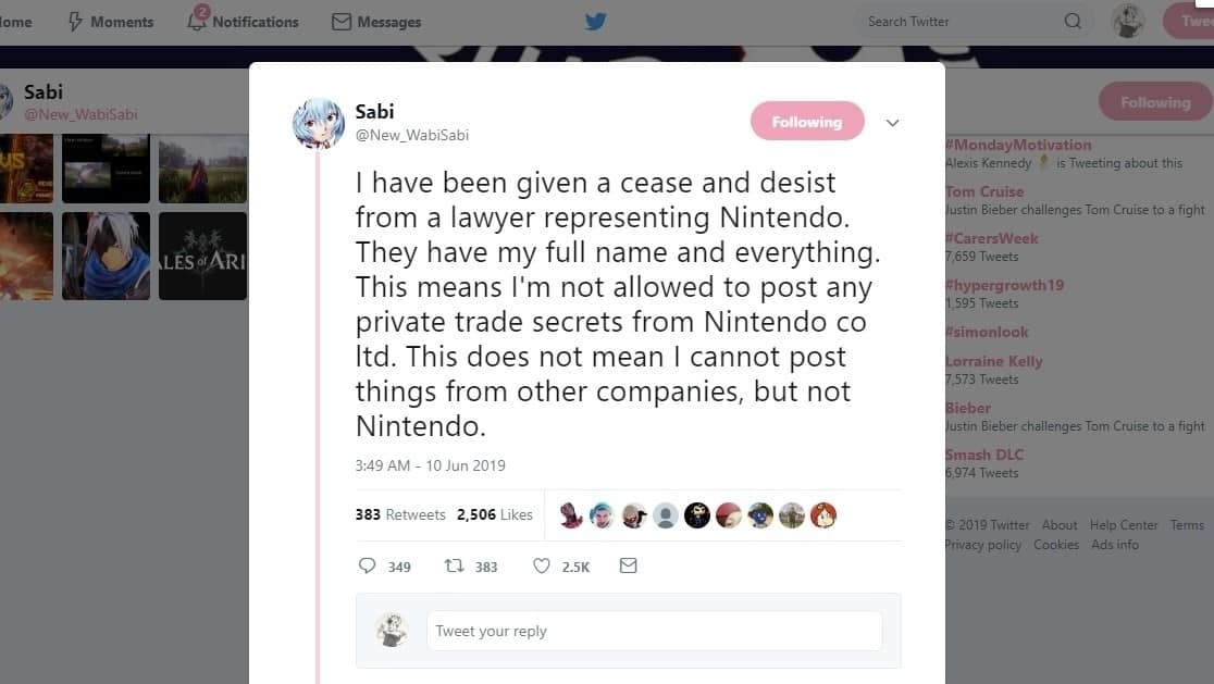 Accurate E3 leaker says Nintendo threatened legal action against them