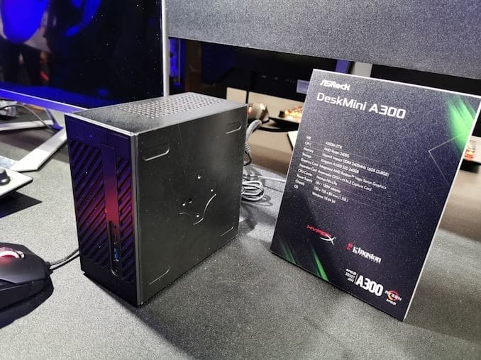 ASRock's Super Tiny DeskMini GTX Z390: Up to 9900K with MXM GPU